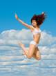 White Bikini Exercise