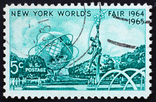 Postage Stamp USA 1964 Mall Wi...