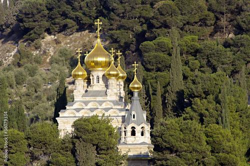 Cuadros en Lienzo Mount of Olives.Jerusalem, Israel