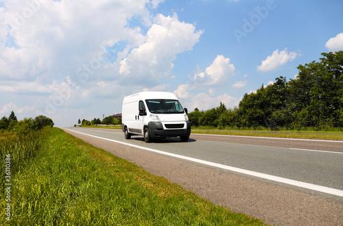 Fotografie, Obraz  Delivery Van