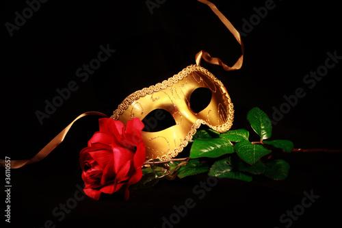 Fotografie, Obraz  Golden Mask