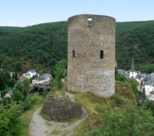 Esch-sur-Sure And Castle Ruin
