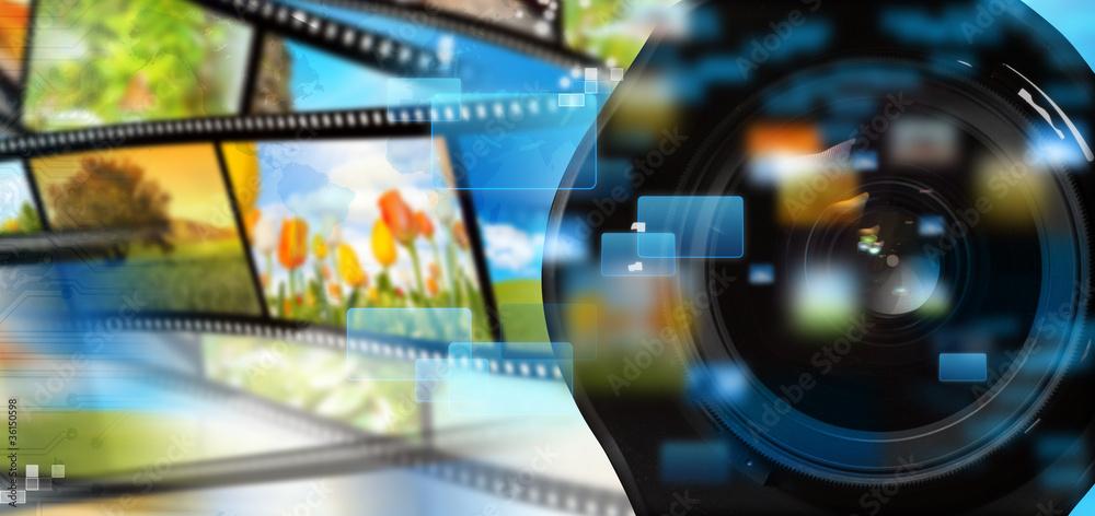 Fototapety, obrazy: Multimedia streaming