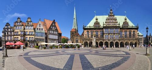 Rathausplatz Bremen Tapéta, Fotótapéta