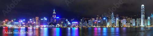 Photo  Hong Kong Hongkong Skyline Panorama