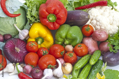 The group of vegetables © a7880ss