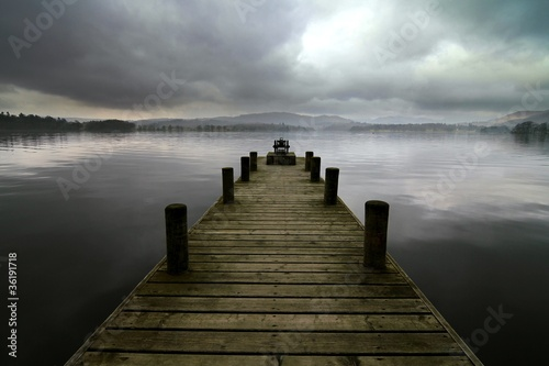 Mysterious Jetty on Lake Windermere