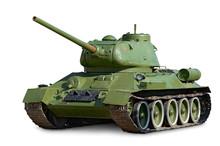 T-34 Soviet Medium Tank During World War II