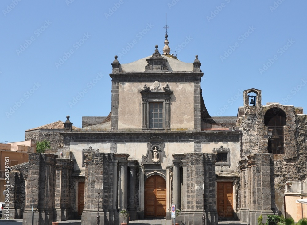 Fényképezés  chiesa madre adrano