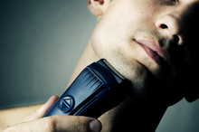 Shaving By Electric Shaver