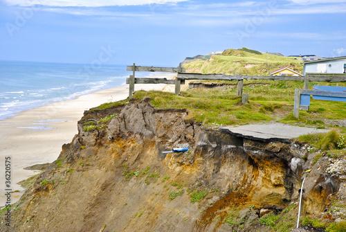 Keuken foto achterwand Noordzee End of Trail