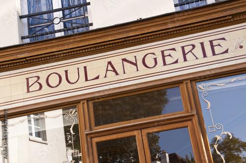 Stickers pour porte Boulangerie Vitrine de boulangerie - Paris, France