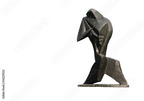 Skulptur aus Novi Sad Festung Petrovaradin Fototapete