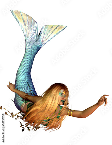 Papiers peints Mermaid Nixe
