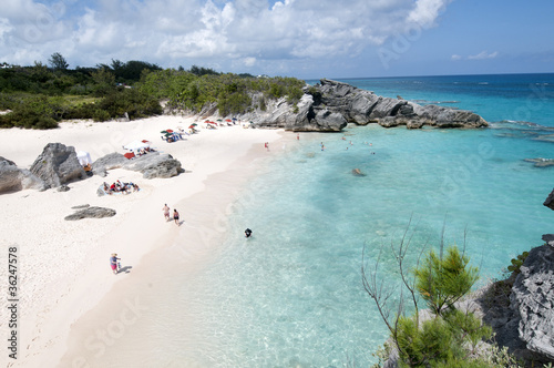 Photo Beach in Horshoe bay  Bermuda