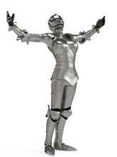 Knight Metal Lady In Victory I...