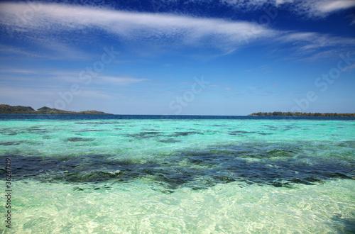 Photo  Tropical beach