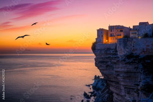 Fotografie, Obraz Bonifacio, Corse
