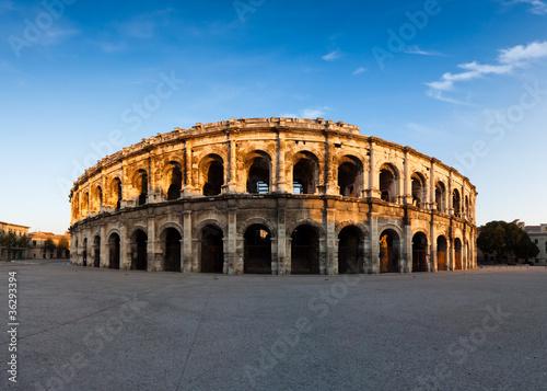 Fotografie, Obraz  Arènes de Nîmes
