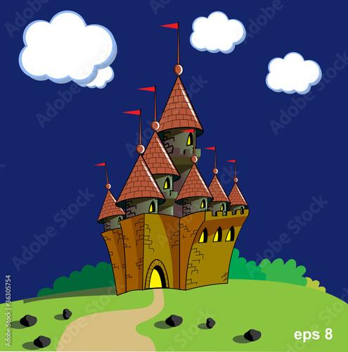 Poster Castle castle vector