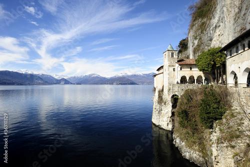 Fotografie, Obraz  Santa Caterina del Sasso