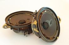 Old And Broken Car Speaker(s)