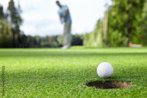 Fotografia, Obraz  Playing golf