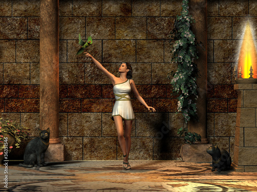 Fotografie, Obraz  Roman Lady 02