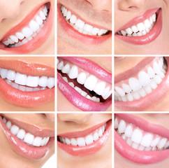 Panel Szklany Podświetlane Do dentysty Smile and teeth.