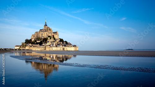 Obraz na plátně Le Mont Saint Michel, France