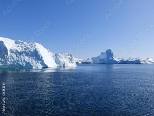 Valokuva  Eisberge