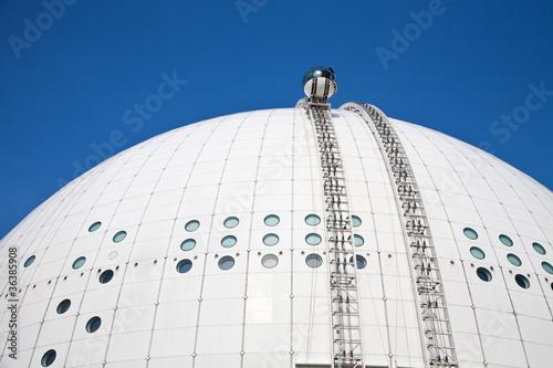 Photo  Globen arena in Stockholm