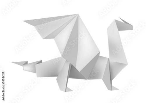 Origami_dragon