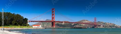 Obrazy San Francisco  san-francisco-skyline-golden-gate