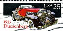 Duesenberg, 1935. US Postage