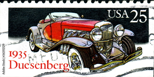 Fotografia  Duesenberg, 1935. US Postage