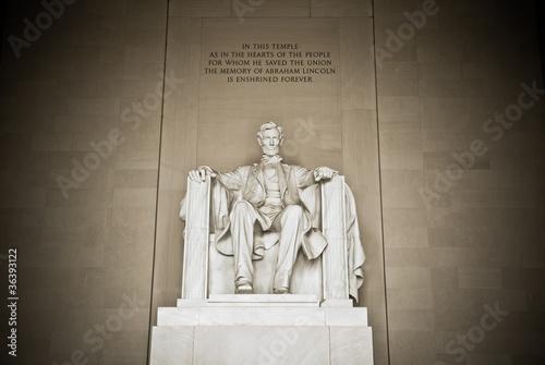 Fotografia  Abraham Lincoln