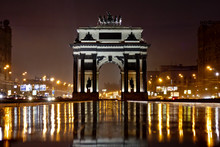 Moscow City Triumphal Arch