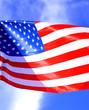 Bandera USA, barras y estrellas