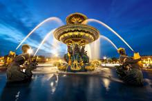 Fontaine Place De La Concorde,...