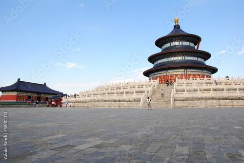 Deurstickers Beijing tempio del cielo pechino