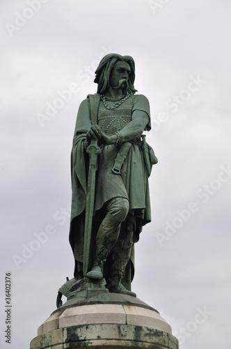 Fotografie, Obraz Vercingetorix statue
