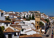 Traditional andalusian white village Ronda