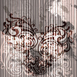 vector abstract grunge frame your text