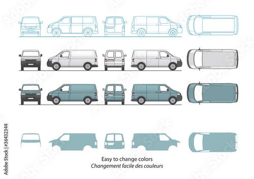 Fotomural Minivan