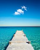 Fototapeta Most - plage vacances ponton bois