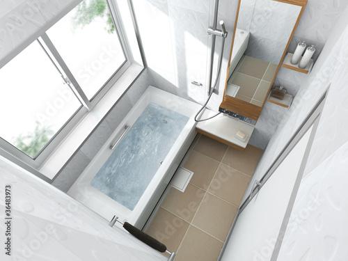 Fotografie, Obraz  浴室c