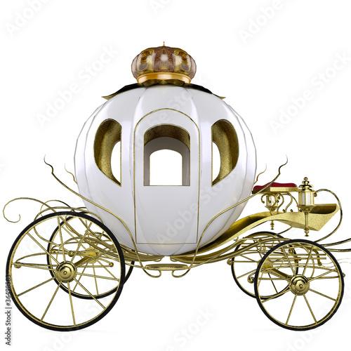 Fotografie, Obraz  fairy tale carriage