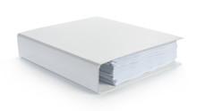 Blank White Binder