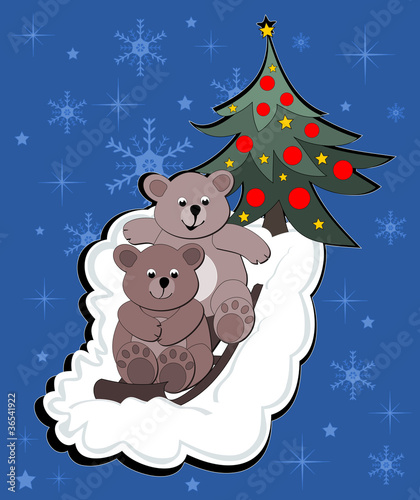 Poster Ours Two bears